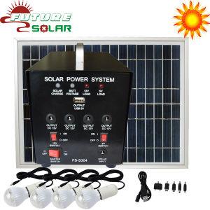 Hot DC Small Solar Power Lighting Energy System FS-S304