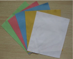 2014 New Microfiber Glass Cleaning Cloths pictures & photos