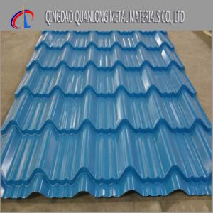 China Hot Selling Prepainted Roofing Corrugated Steel Sheet pictures & photos