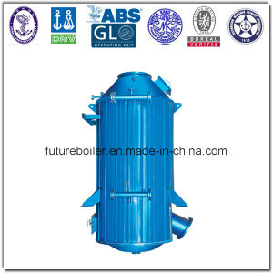 Vertical Marine Exhaust Gas Thermal Oil Boiler pictures & photos