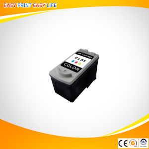 Compatible Ink Cartridge Cl51 for Canon pictures & photos