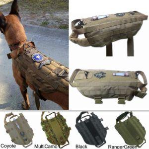 Tactical Dog Vest K9 Training Molle Combat Dog Vest