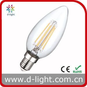 RoHS&CE Certificate Hot Sale E14 C35 4W LED Bulb