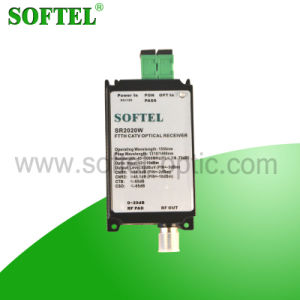 Hot Sale Mini CATV FTTH Optical Receiver with AGC pictures & photos