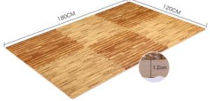 Customized EVA Foam Puzzle Mats Wood Grain Mats Brown Mat pictures & photos