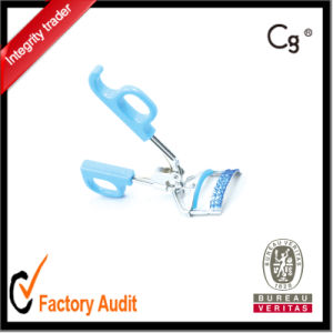 Hot Selling Blue Handle Makeup Tools Eyelash Curler Lowprice with Diamond pictures & photos
