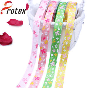 Yama Ribbon 5/8 Inch 16mm Butterfly Cheap Printed Grosgrain Ribbon pictures & photos