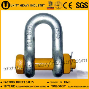 G 2150 U. S Type Bolt Safety Drop Forged Anchor Shackle pictures & photos