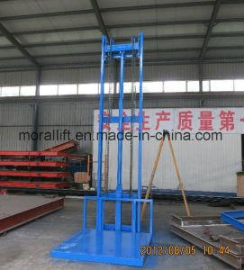 Vertical Rail Cargo Lift Platform pictures & photos