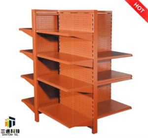 Fashionable Metal Display Shelving Supermarket Display Rack pictures & photos