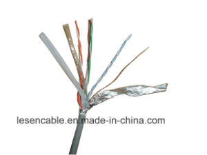 CAT6 FTP Network Cable with 23AWG, Copper or CCA Conductor pictures & photos