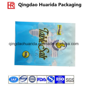 Table Salt Packaging Bag with Custom Logo and Clear Window pictures & photos
