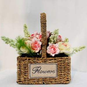 The Hottest Basket of Artificial Flowers08