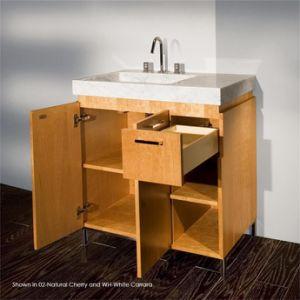 Customizable Solid Wood Vanity Bathroom Furniture
