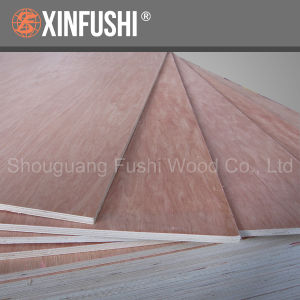 Top Grade European Pine Commercial Plywood with Poplar Core pictures & photos