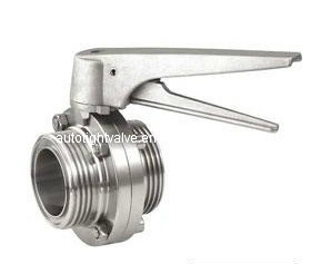 Sanitary Threaded Butteryly Valve