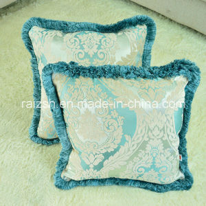 Classical Elegance Fashion Luxury Pillow Cover with Fringe pictures & photos