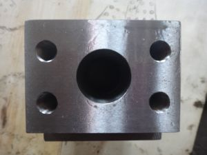 Machining OEM Service Hot Forging CNC Machining Wesco Gate Valve Body pictures & photos