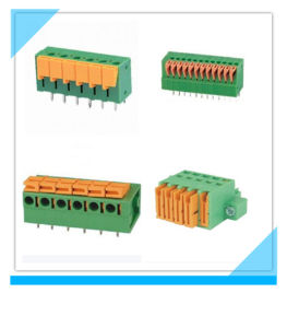 Custom Pitch Clamp Screw Spring Terminal Block for PCB Board pictures & photos