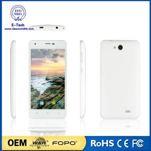 New 5inch Chinese Brand Latest Slim Mobile Phone for OEM Cell Phone