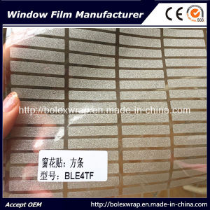 Hot Sell Sparkle Frosted Window Film Decorative Film for Home Decoration pictures & photos