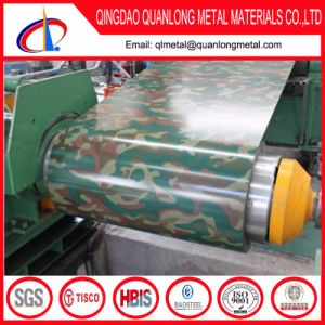Prepainted Color Coated Steel Coil with Camouflage Pattern pictures & photos
