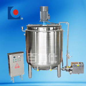 3000 Litre Electric Heating Stainless Steel Emulsification Tank pictures & photos
