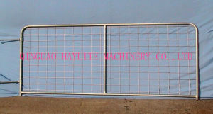 Galvanized Vertical Brace Steel Fram Gate pictures & photos