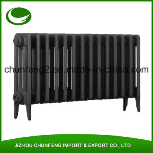 Traditional Victorian 4 Column 460mm Cast Iron Radiator