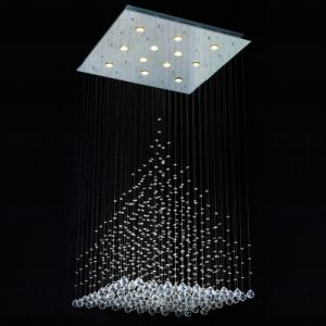 High Quality K9 Crystal Ceiling Lamp for Decoration (GD-8007-12) pictures & photos