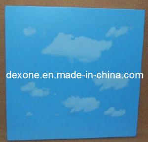 Aluminum Suspended Ceiling Tiles with Sky and Cloud Pattern for Decoration