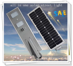 Professional All in One Solar IP65 Street Light pictures & photos