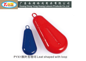 Fishing Lead Sinker Leaf Shaped with Loop pictures & photos