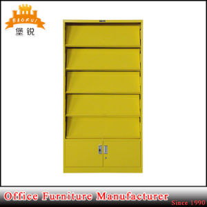 Customized Steel Magazine Shelf with Cabinets pictures & photos