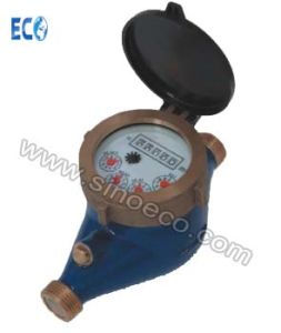 Multi Jet Dry Dial Brass Water Meter with External Adjustment pictures & photos