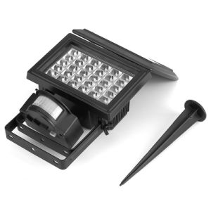 Solar Multifunction Flood Light with Ground Spike pictures & photos