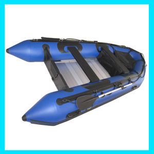 8m Large Boat Black Heavy Inflatable Boat for Escaping pictures & photos