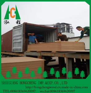 Factory Direct Supply Pine Wood Fiberboard Raw MDF Sheet pictures & photos