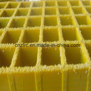 Fire Retardant/ Anti-Slip Fiberglass Gritted Grating pictures & photos