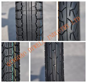 Outstanding Quality Motorcycle Tires with Various Sizes and Patterns (TVS similar pattern) pictures & photos