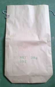 Square Bottom Kraft Paper Bag for Silicon Carbide Powder 20kg pictures & photos