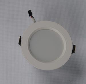 LED Aluminum Down Lamp Straight-Side Sprayed as White 3000k\6500k (knife-type radiator)