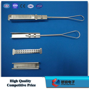FTTH Tension Clamp / Stainless Steel Anchor Clamp pictures & photos