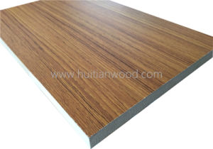 High Quality 18mm White Oak Design Melamine Plywood with Best Price pictures & photos