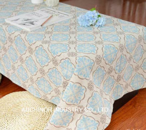 Biodegradable Colorful Disposable Printing Plastic Table Cloth pictures & photos