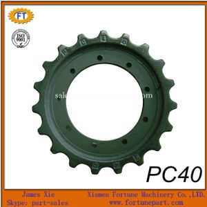Komatsu PC40 Excavator Parts Mini Final Drive Sprocket pictures & photos