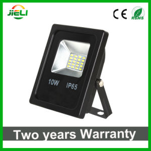 Wholesale 10W SMD5730 Slim Black LED Floodlight pictures & photos