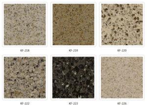Artificial Quartz Stone for Kitchen Countertop/Bathroom