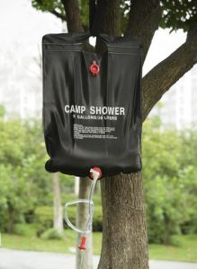 Factory Supply 20L Portable Folding Camping Shower with Low Price pictures & photos