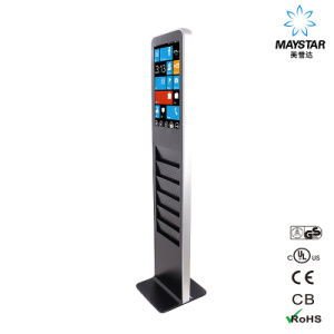 Stand Alone Digital Free Standing LCD Advertising Display pictures & photos
